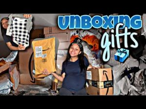 UNBOXING BABY GIFTS FROM SUPPORTERS |TEEN MOM OF 2 | 𝙯𝙖𝙣𝙖𝙙𝙞𝙖 𝙨𝙞'𝙢𝙤𝙣𝙚
