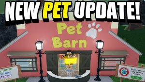 NEW PETS  UPDATE IN LAUNDRY SIMULATOR! (ROBLOX)