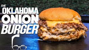 THE OKLAHOMA ONION BURGER (WOW!)   SAM THE COOKING GUY