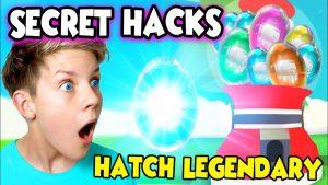 HACK TO HATCH LEGENDARY PETS in Adopt Me!! Adopt Me Hacks! *WORKING HACKS*