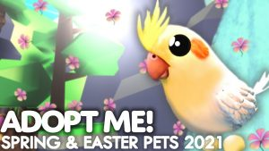 Adopt Me EASTER Egg UPADTE PETS 2021! Adopt Me Pets COMING THIS SPRING!