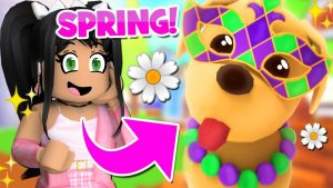 🌷SPRING IS HERE🌷 UPDATE in ADOPT ME (roblox) PETS