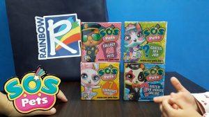 SOS PETS – Apriamo 4 Box sorpresa con i Nuovissimi personaggi Rainbow
