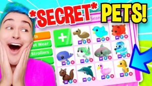 Unlocking *SECRET UNRELEASED PETS* With Adopt Me TIK TOK HACKS!! New Upcoming Pets Reaction (Roblox)