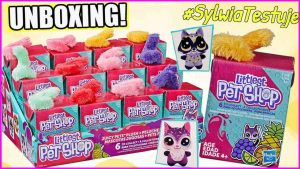 🆕 Littlest Pet Shop 🐈 Soczki Pluszowe zwierzaki 🐇 Juicy Pets Plush 🐩 #SylwiaTestuje