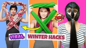 *VIRAL WINTER HACKS* | Testing Out VIRAL Fashion & Beauty Hacks
