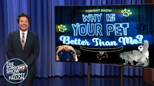 Why Is Your Pet Better Than Me?: Painting Dog, Piano-Playing Cat | The Tonight Show
