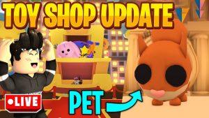 Neues TOY Shop  UPDATE mit neuen TOYS und süßem PET Live!! | Deutsch