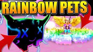 SECRET RAINBOW PETS IN PET SIMULATOR UPDATE! *MOST OP PETS* – ROBLOX