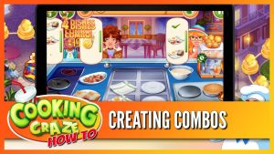 Cooking Craze – How To Create Combos Gameplay
