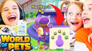 WOP Potion Challenge WORLD OF PETS GAME w/ The Norris Nuts