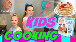Fun in the Kitchen Kids Cooking MASTER CHEF JUNIOR Breakfast Cooking Set