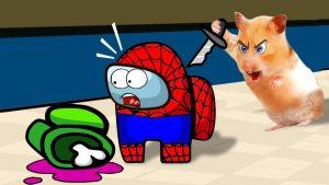 Oh no! Among Us Pet Imposter – Cartoon Hamster Among us by Life Of Pets Hamham