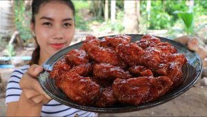 Yummy cooking crispy chicken wings recipe – Cooking skill